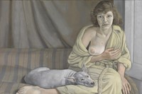 Lucian Freud - Girl With Dog