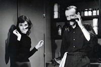 Audrey Hepburn and Fred Astaire
