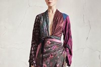 Women's patchwork top and dress