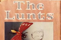 Defaced book jacket of 'The Lunts' by George Freedley