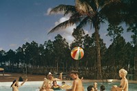 Nudist Colony, Homestead, Florida, 1963
