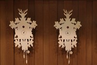 Le Cheval Blanc custom cuckoo clocks