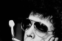 Lou Reed smokes a cigarette in Amsterdam, 1976