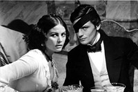 Claudia Cardinale and Alain Delon in The Leopard, 1963