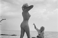 Untitled, self-timer, Naples, Florida, 1957