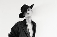 Dior Homme worn with hat by Lock & Co and scarf stylist's ow