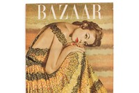 Harper's Bazaar January 1953 Cover, Louise Dahl Wolfe