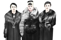 Madame D.'s three daughters (in mourning)