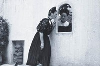 Frida Kahlo and her Itzcuintli dogs, c. 1944