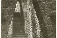 Josef Albers, Untitled (Stairway, Anahuacalli, Mexico), c194