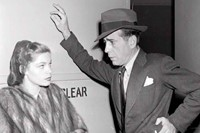 Lauren Bacall and Humphrey Bogart in 'The Big Sleep', 1946