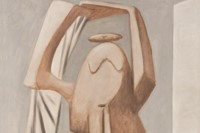 Pablo Picasso, Female bather with raised arms, 1929