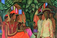 Diego Rivera  Dance in Tehuantepec (Baile in Tehuantepec), 1