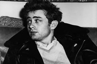James Dean in his Perfecto