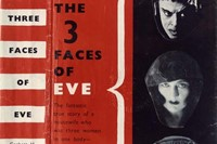 Defaced book jacket of 'The 3 Faces of Eve' by Thigpen and C