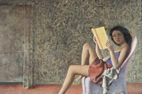 Balthus, Katia Reading, 1968–76