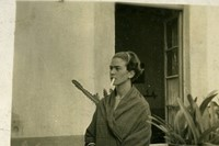 Frida Kahlo in the Blue House, ca. 1930