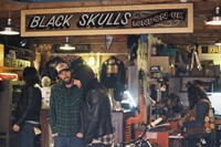 The Black Skulls workshop