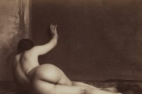 Unknown Photographer, Nude Study, 1870