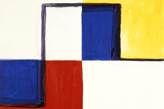 Little Mondrian, Mary Heilmann