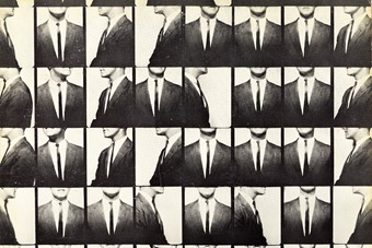 John Wallowitch, c. 1964 by Andy Warhol