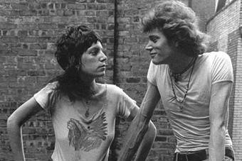 Robert Mapplethorpe and Patti Smith