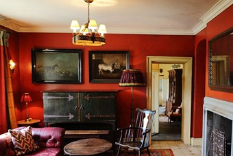 Interior at the Gunton Arms