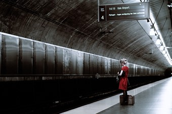 Nora, Train Station II, Oslo – August 2006