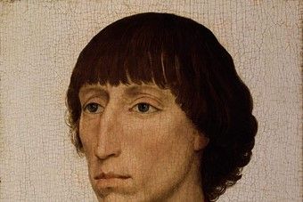 Portrait of Francesco d'Este, c. 1460, by Rogier van der Wey