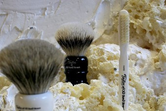 Handmade Super Badger Brushes and Toothbrush by Taylor of Ol