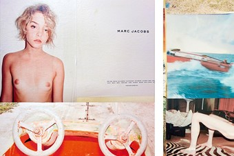 Spread from Woo! Juergen Teller