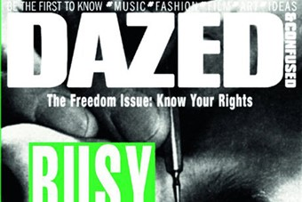 Untitled, (The Freedom Issue), published in Dazed & Confused