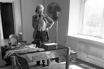 Warhol and Archie, 1970s