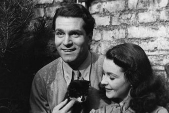 Laurence Olivier, Vivien Leigh and Tissy