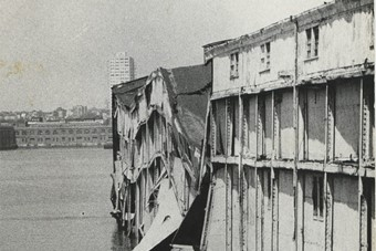 Alvin Baltrop, The Piers (collapsed warehouse), 1975-86