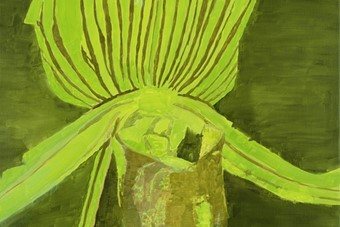 Luc Tuymans, Orchid, 1998