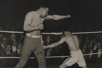 Unknown Photographer, Boxing (Primo Carnera), date unknown