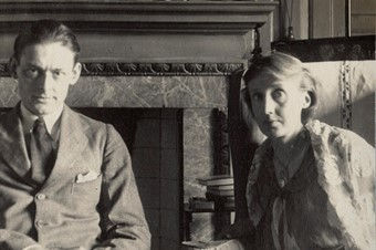 Virginia Woolf with T. S. Eliot by Lady Ottoline Morrell, Ju