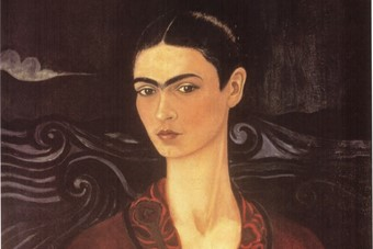 Self-portrait in a Velvet Dress, 1926