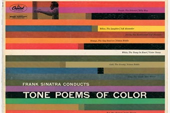 Tone Poems of Color album cover, 1956