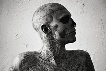 Rick Genest for Vogue Hommes Japan