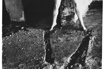 Francesca Woodman, from Angel Series, Rome, Italy, 1977-1978