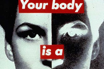 Untitled (Your Body Is A Battleground), 1989