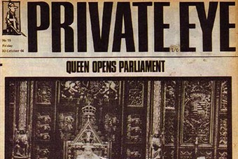 Private Eye front cover, No.75, 30 October 1964