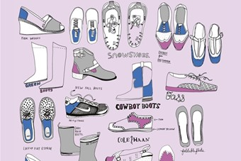 Daily Purchase Drawings: Shoes, 2006-2014