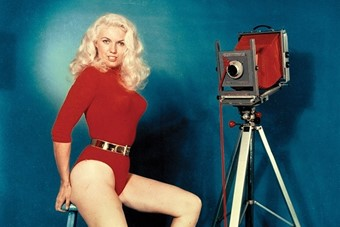 Bunny Yeager, Self Portrait, 1960s