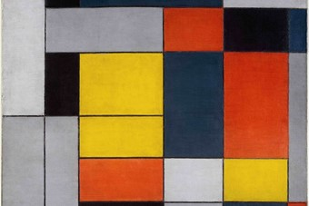 Piet Mondrian, No. VI Composition No.II