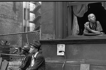Henri Cartier-Bresson, Harlem, New York, 1947
