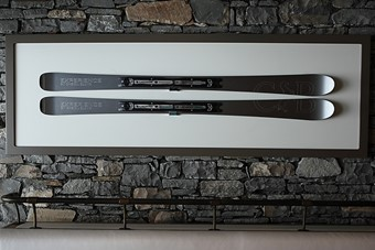 Lacroix skis in Le Cheval Blanc