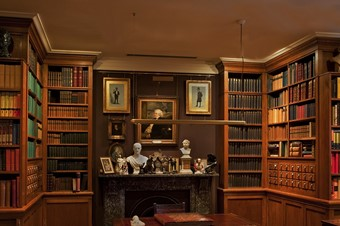 The Library, The Garrick Club, London